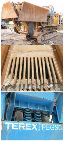 Crushing plant inspections